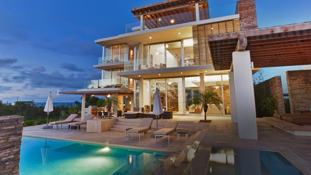 10 Jaw Dropping Luxury Villas Designs That Look Like Paradise