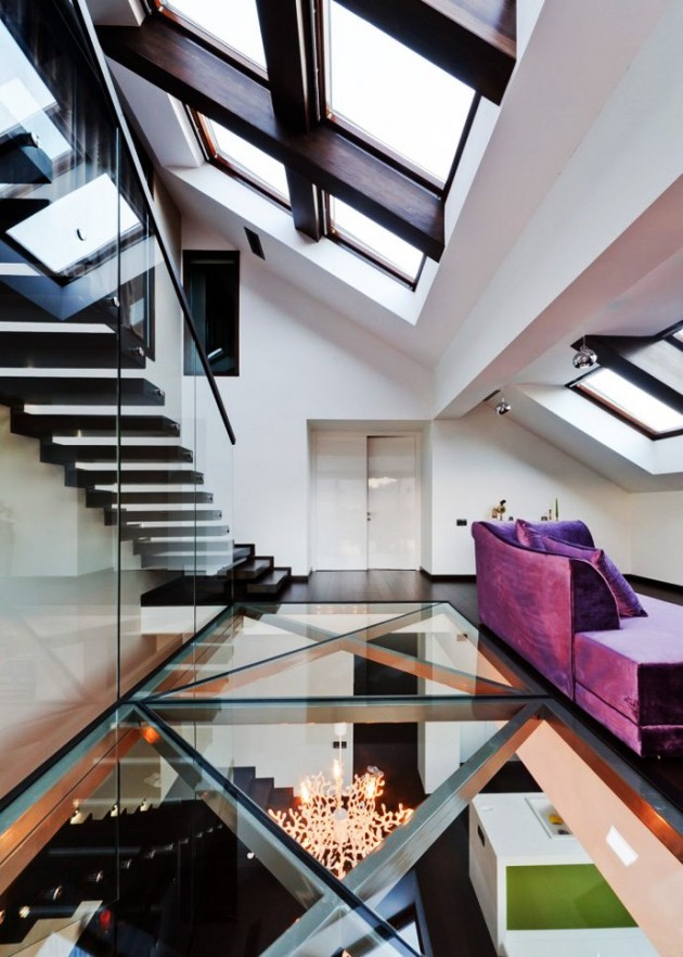 12 Beautiful Glass Floors To Add A Special Charm To Your Interior