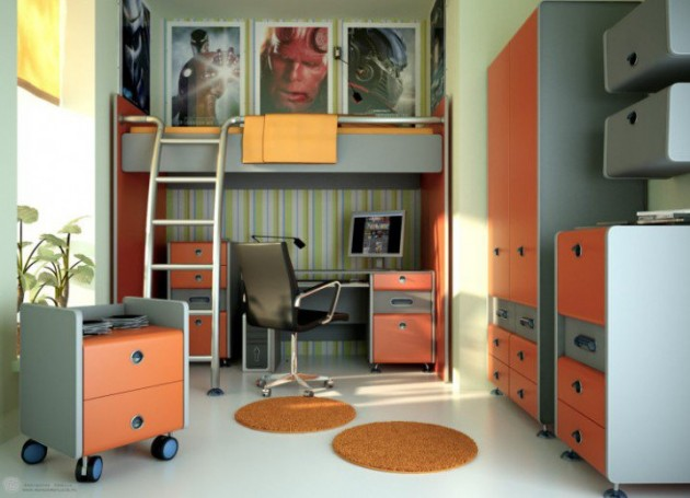 17 Inspirational Space Saving Bed Design Ideas For Your Childs Room