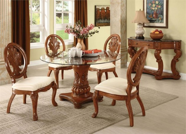 17 Classy Round Dining Table Design Ideas