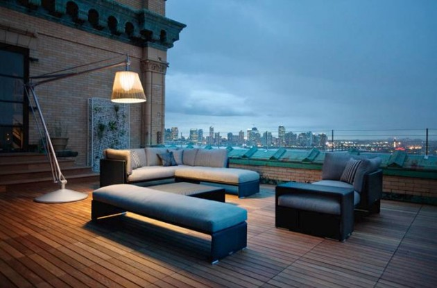 Impressive Rooftop Terrace Design Ideas