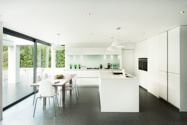 19 Beautifully Decorated L-Shaped Kitchens For All Tastes