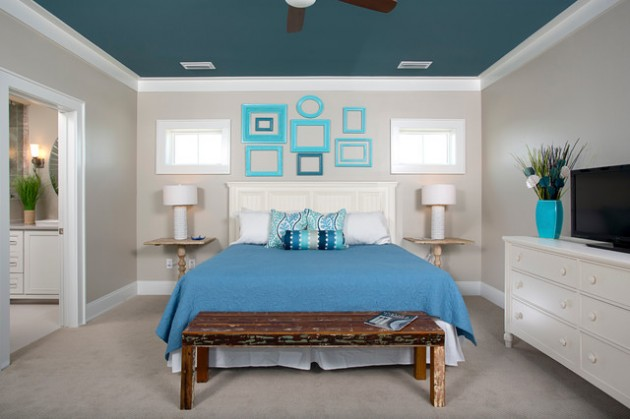 15 Delightful Painted Ceiling Ideas For More Dramatic Atmosphere
