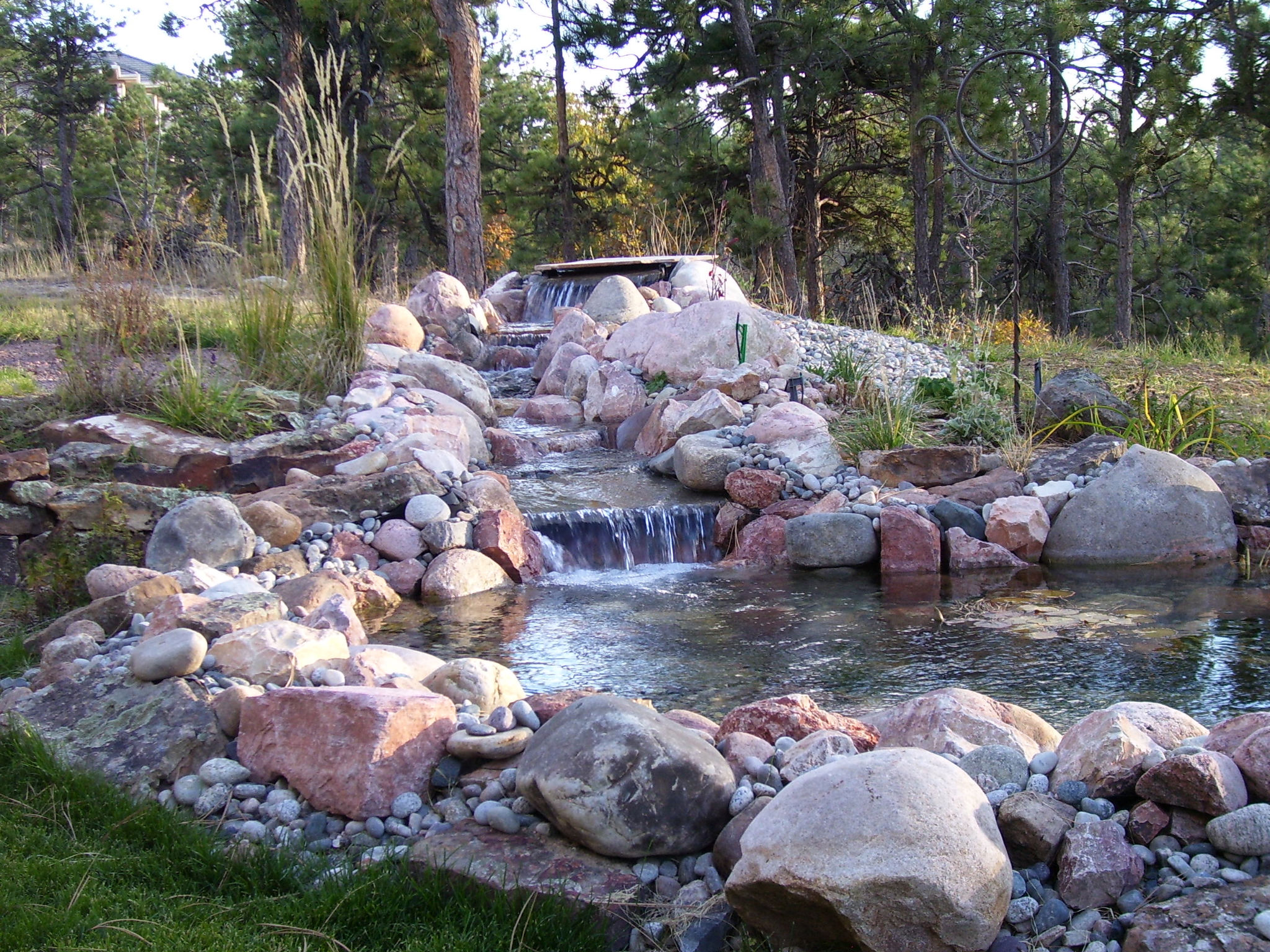 How much maintenance is involved in the upkeep of a water for Backyard ponds and water features