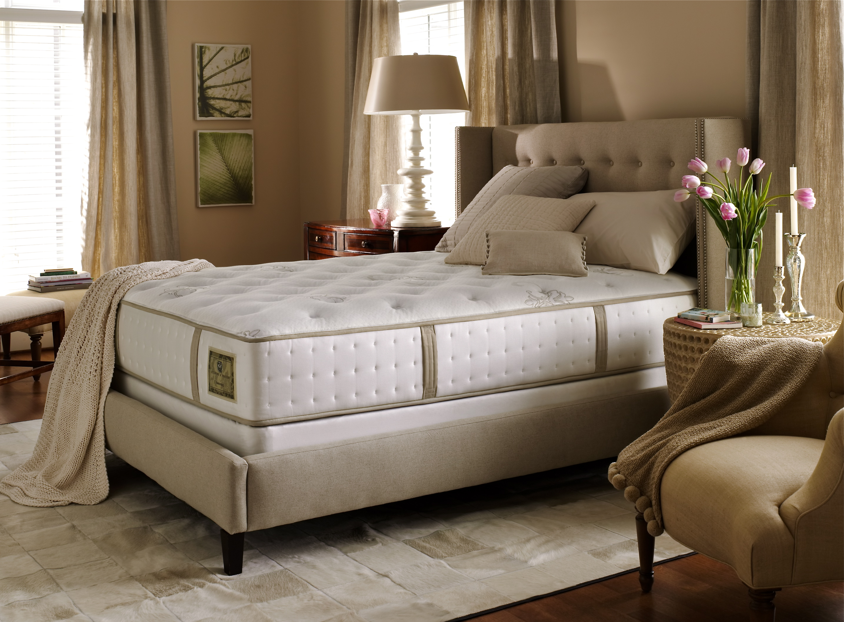 Compare Prices For King Classic Sleep Products Royalty Elegance Mid Fill Softside Waterbed - Top Only