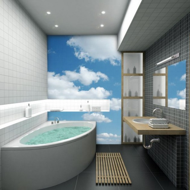14 Beautiful Wall Murals Design For Your Dream Bathroom. Beautiful Wall Murals Design For Your Dream Bathroom
