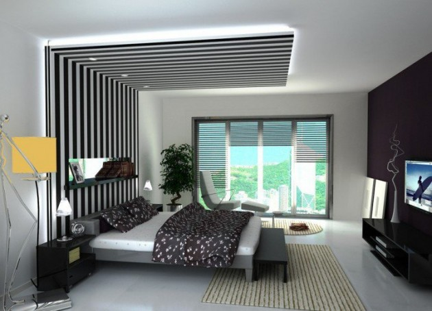 . 15 Ultra Modern Ceiling Designs For Your Master Bedroom