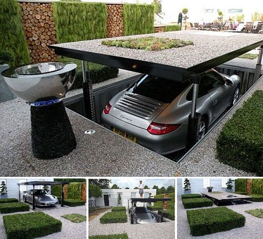 10 Space-Saving Underground Home Parking Solutions That Wows