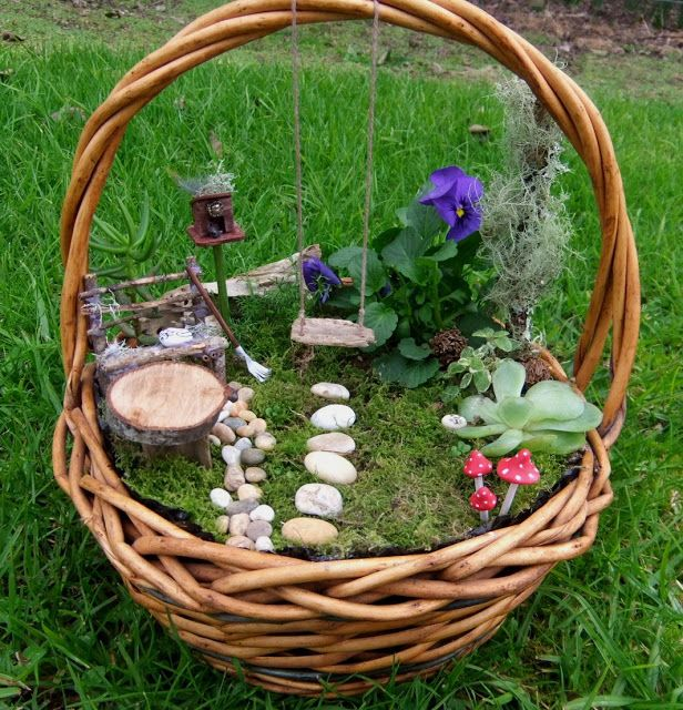 15 Breathtaking Diy Fairy Gardens: 17 Of The Coolest DIY Fairy Garden Ideas For Small Backyards