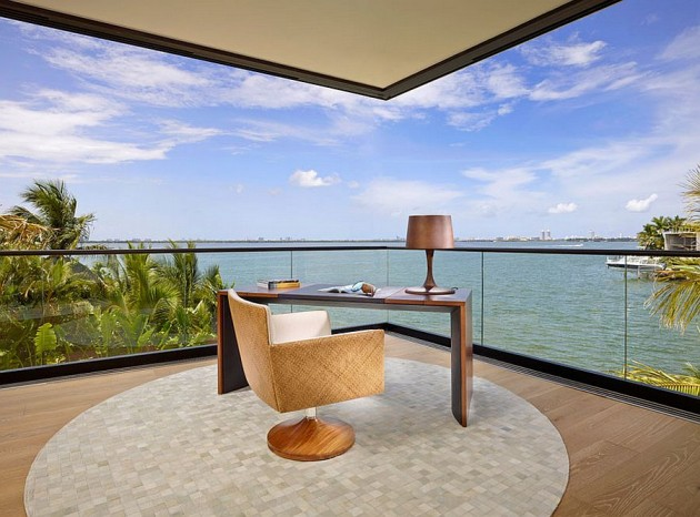 14 Marvelous Home Office Designs With Ocean View