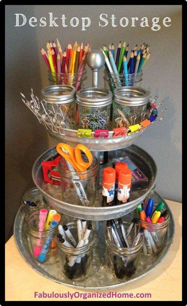 14 Creative Amp Practical Diy Desk Organization Amp Storage Ideas