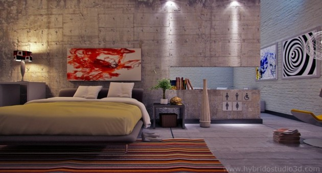 15 Extravagant Concrete Bedroom Designs For More Elegance In Your Bedroom
