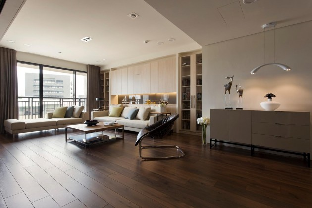 15 Dramatic Dark Flooring Design Ideas
