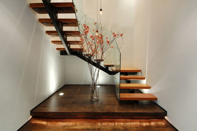 15 amazing industrial staircase designs you are going to like. Black Bedroom Furniture Sets. Home Design Ideas
