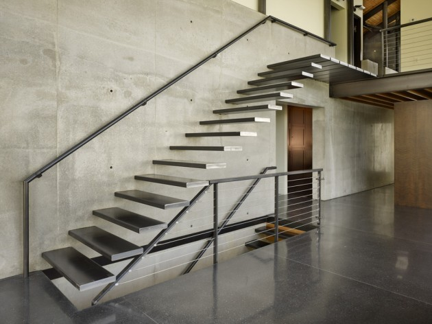Superbe Industrial Staircase
