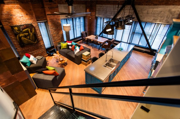 15 Awe Inspiring Industrial Family Room Designs To Inspire You