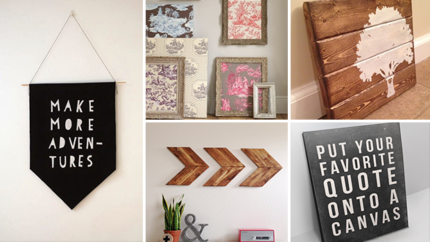15 Extremely Easy DIY Wall Art Ideas For The Non-Skilled DIYers