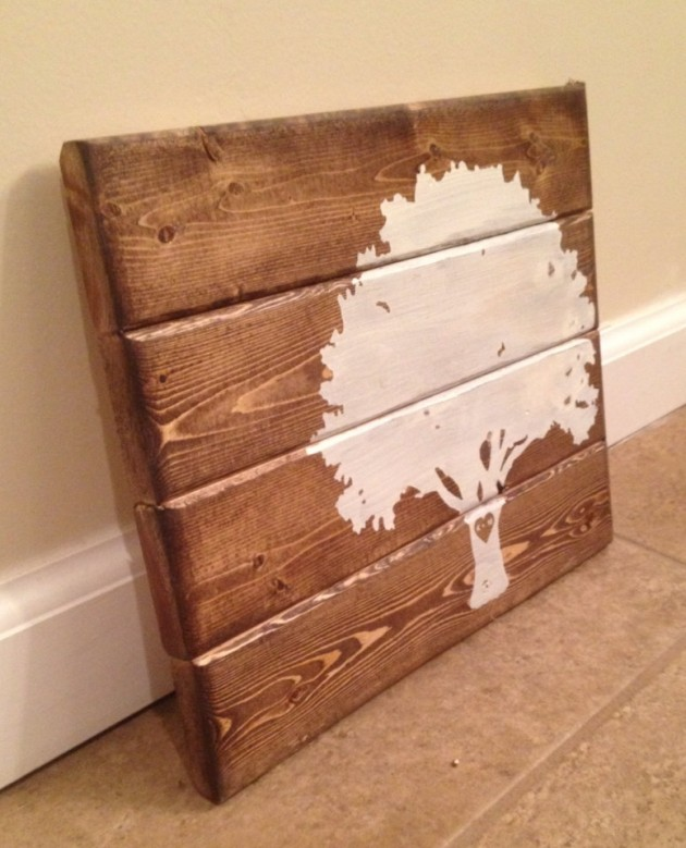 Wood Wall Art Amusing 15 Extremely Easy Diy Wall Art Ideas For The Nonskilled Diyers Review