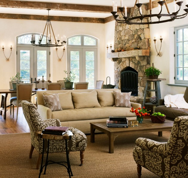15 Gorgeous Mediterranean Family Room Designs Full Of Luxury Features