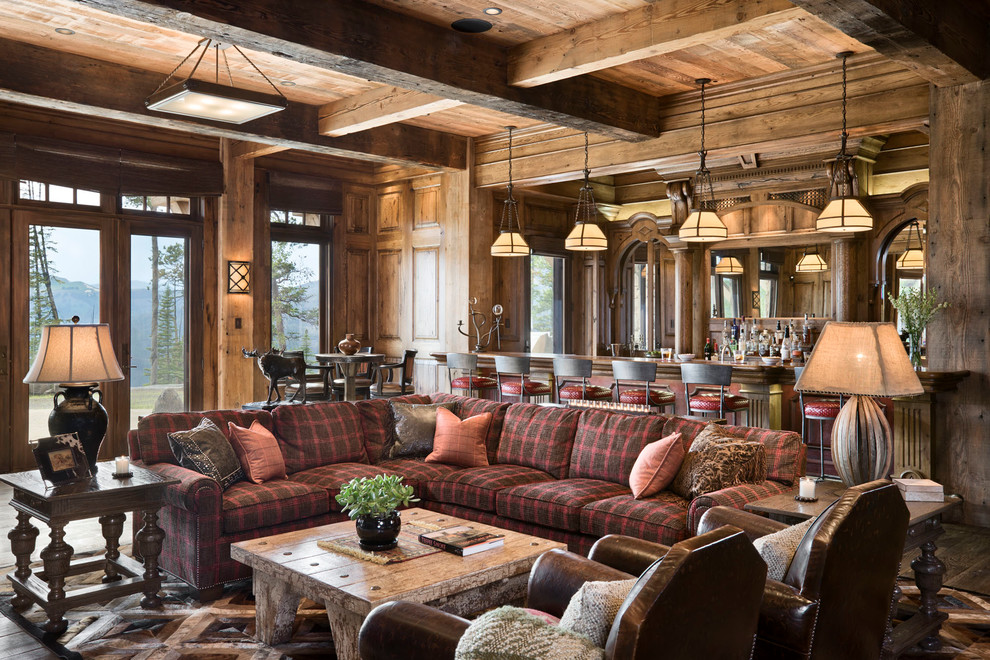 15 heavenly rustic family room designs you can 39 t not enjoy