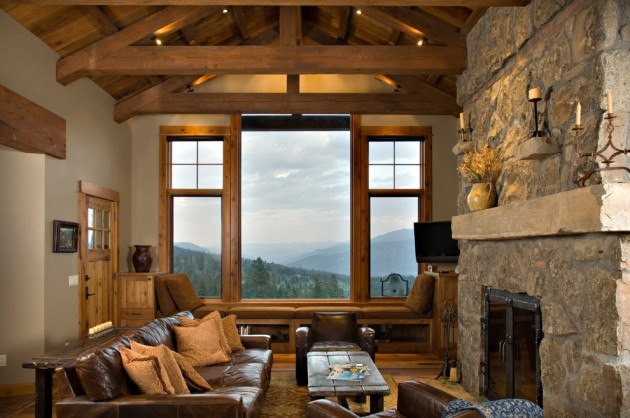 15 Heavenly Rustic Family Room Designs You Can't Not Enjoy
