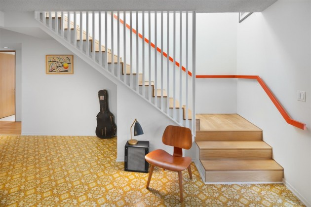 15 Outstanding Mid-Century Modern Staircase Designs To Bring You Back In Time