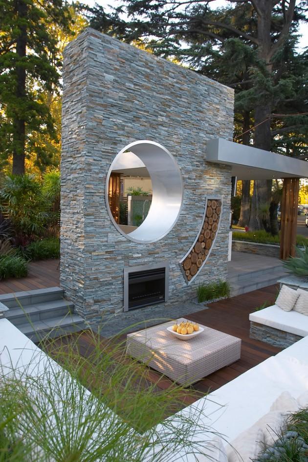 15 Sensational Contemporary Patio Designs For Your Enjoyment on Modern Backyard Patio id=72575