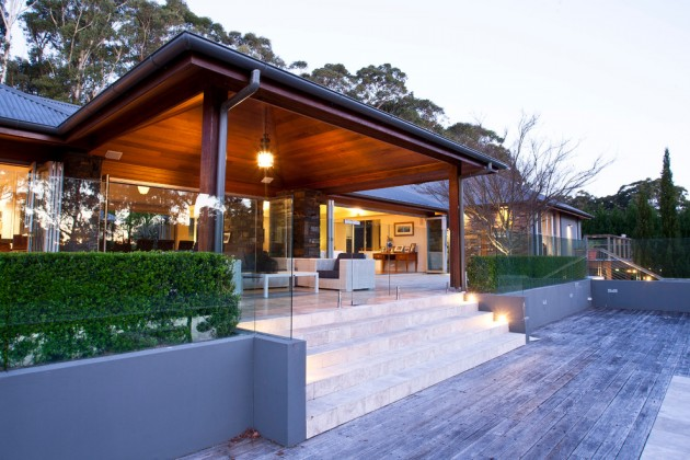 15 Striking Contemporary Porch Designs To Increase Your ... on Large Back Porch Ideas id=96006