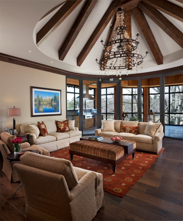 15 Timeless Traditional Family Room Designs Your Family Will Enjoy