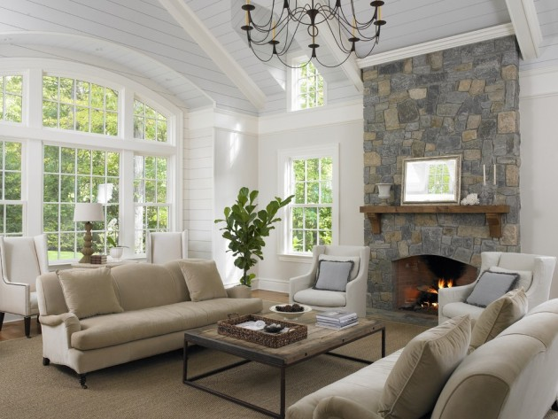 15 Timeless Traditional Family Room Designs Your Family Will ...
