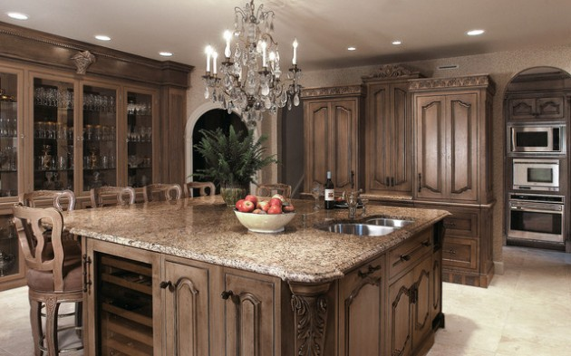 16 beautiful traditional kitchen design ideas with special charm 1433