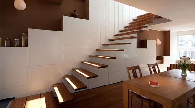 16 Breathtaking Modern Staircase Designs Are The Daily  : 16 Breathtaking Modern Staircase Designs Are The Daily Inspiration You Need 0 from www.architectureartdesigns.com size 630 x 350 jpeg 150kB