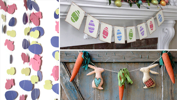 16 Cute Handmade Easter Garland Ideas You Can Craft Before Easter