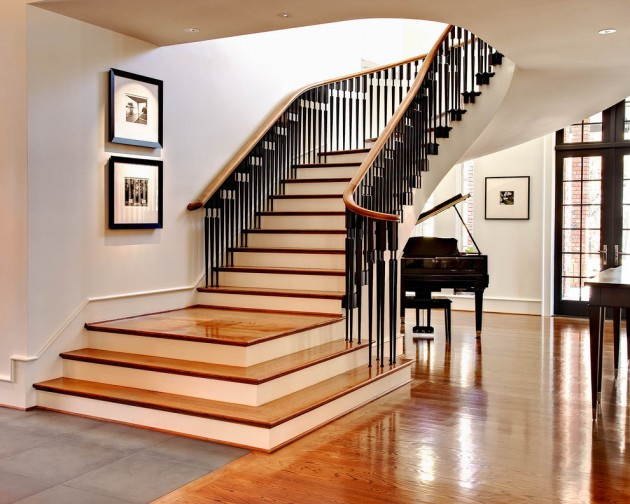 16 elegant traditional staircase designs that will amaze you - Stair case designs ...