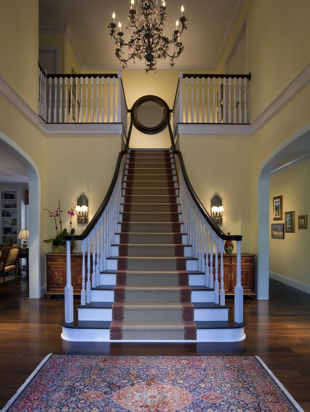 16 Elegant Traditional Staircase Designs That Will Amaze You