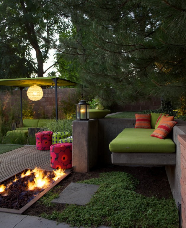 16 Exceptional Mid-Century Modern Patio Designs For Your ... on Modern Backyard Patio id=39561