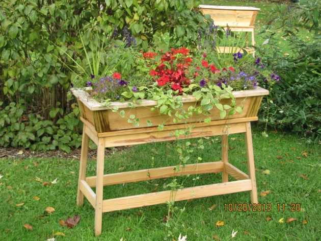 Garden Planters Diy Homemade