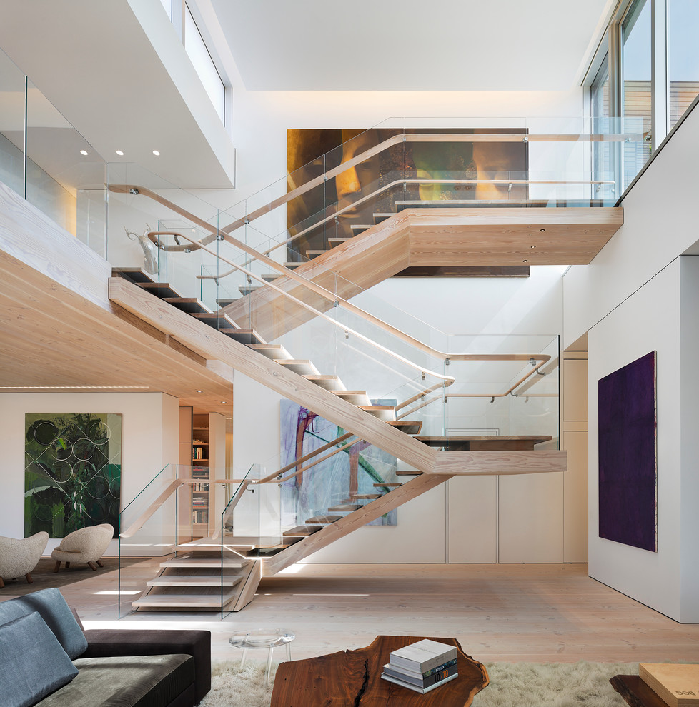 14 Staircases Design Ideas: 16 Memorable Contemporary Staircase Designs That Will