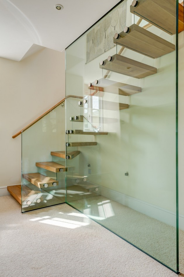 16 Memorable Contemporary Staircase Designs That Will Change Your Home
