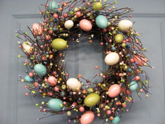 16 welcoming handmade easter wreath ideas you can diy to decorate your entry - Easter Wreaths