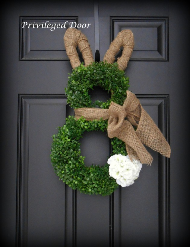 16 Welcoming Handmade Easter Wreath Ideas You Can DIY To Decorate ...