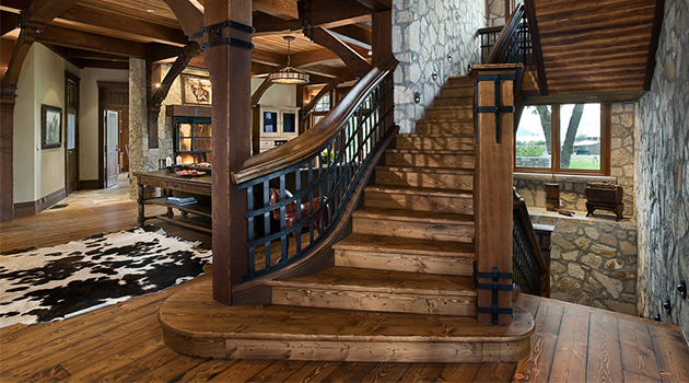 17 Splendid Rustic Staircase Designs To Inspire You With Ideas