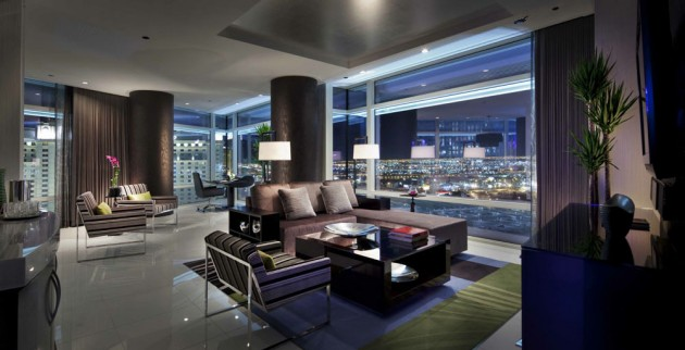17 astounding penthouse interior designs that wows for Sky design hotel