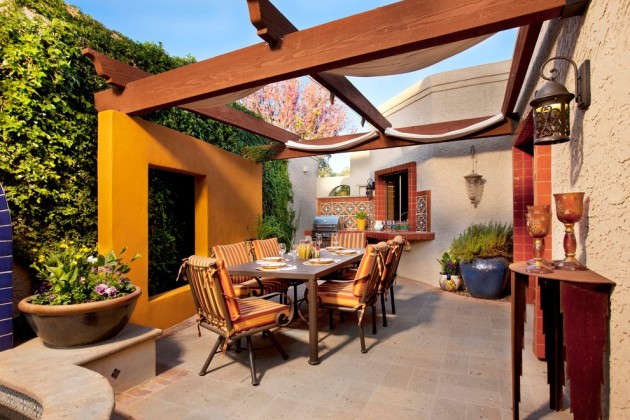 18 Extraordinary Luxurious Mediterranean Patio Designs You Will Love