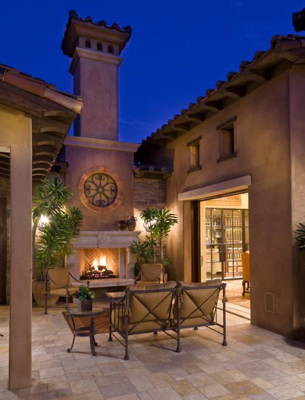 18 Extraordinary Luxurious Mediterranean Patio Designs You ... on Small Mediterranean Patio Ideas id=89896