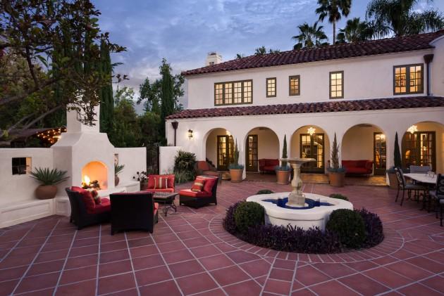 18 Extraordinary Luxurious Mediterranean Patio Designs You ... on Luxury Backyard Patios id=14475