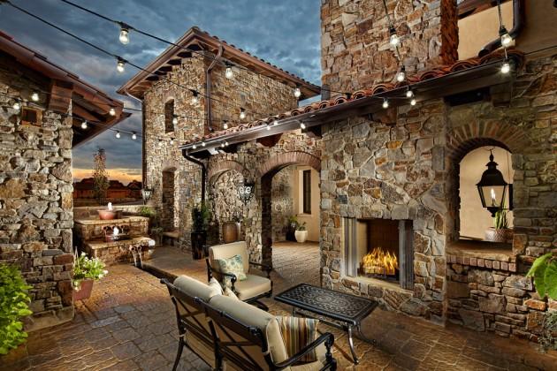 18 Extraordinary Luxurious Mediterranean Patio Designs You ... on Backyard:uuezyx-Hy-8= Landscape Design  id=75361