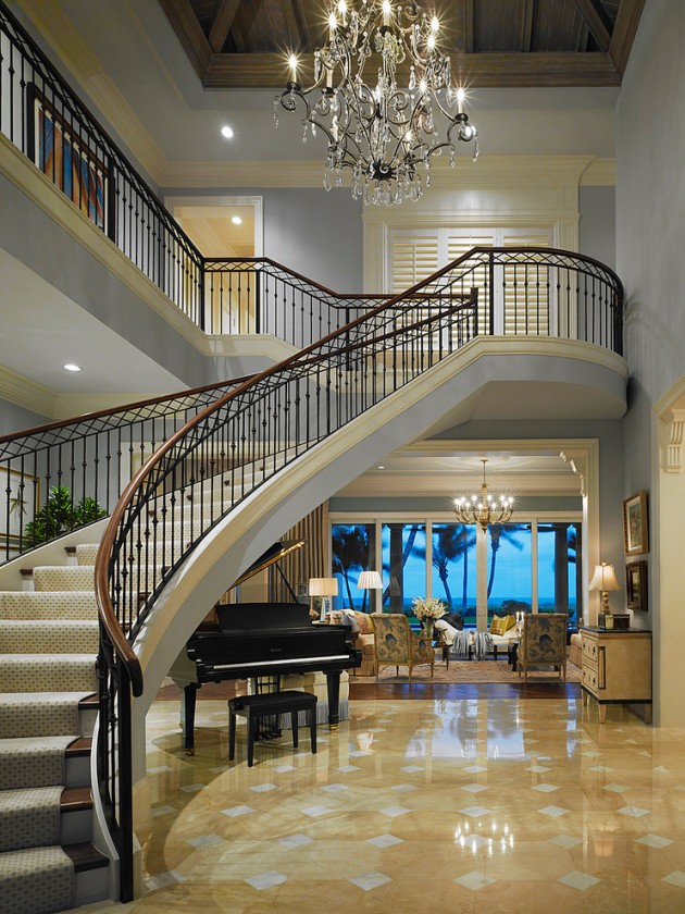 18 palatial mediterranean staircase designs that redefine for Luxury staircases