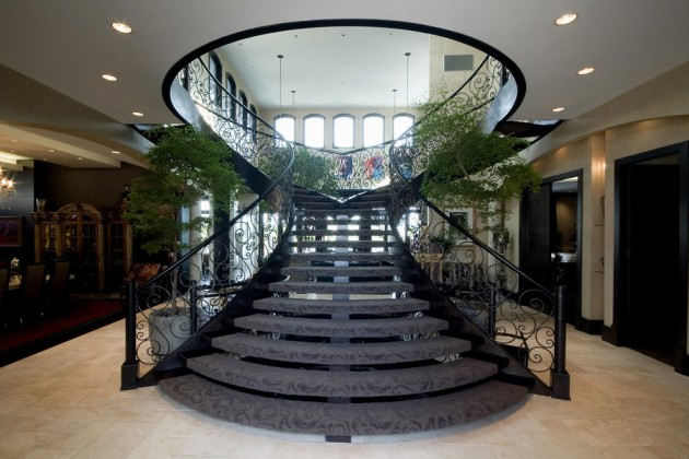 18 Palatial Mediterranean Staircase Designs That Redefine