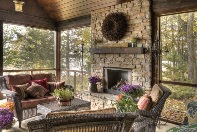 18 Spectacular Rustic Porch Designs Every Rustic House